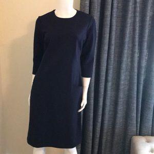 New J. McLaughlin Navy Stretch Knit Dress M